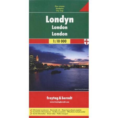 LONDYN PLAN MIASTA 1: 10 000