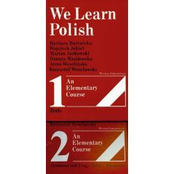 WE LEARN POLISH Barbara Bartnicka, Wojciech Jekiel, Marian Jurkowski