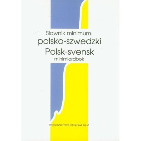 SŁOWNIK MINIMUM POLSKO - SZWEDZKI Witold Maciejewski