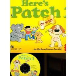 HERE'S PATCH THE PUPPY 1 + CD Joy Morris, Joanne Ramsden