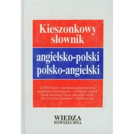 KIESZONKOWY SŁOWNIK ANGIELSKO-POLSKI POLSKO-ANGIELSKI Janina Jaślan, Jan Stanisławski