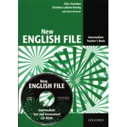 ENGLISH FILE NEW INTER PODRĘCZNIK NAUCZYCIELA + CD Clive Oxenden, Christna Latham-Koening, Brian Brennan
