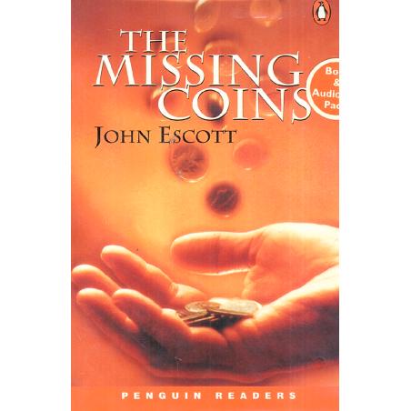 THE MISSING COINS KSIĄŻKA + CD LEVEL 1 John Escott
