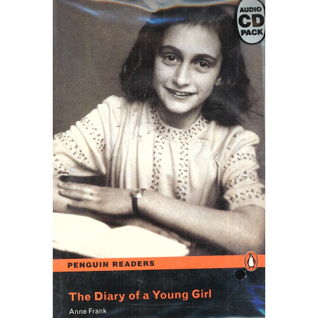 DIARY OF A YOUNG GIRL KSIĄŻKA + CD LEVEL 4 Anne Frank
