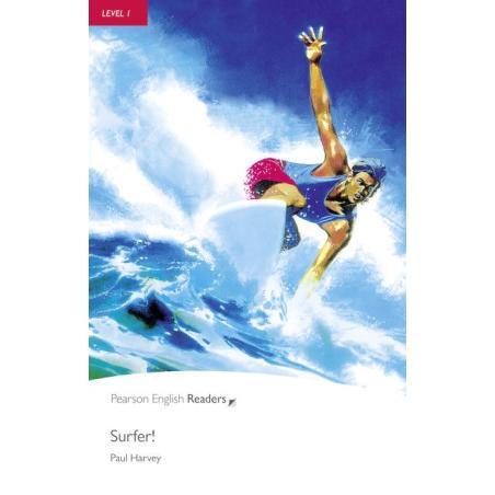 PEGR SURFER! KSIĄŻKA + CD LEVEL 1 Paul Harvey