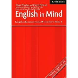 ENGLISH IN MIND TEACHER'S BOOK 1 WYDANIE EGZAMINACYJNE ZGODNE Z NOWĄ PODSTAWĄ PROGRAMOWĄ