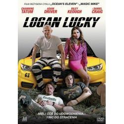 LOGAN LUCKY KSIĄŻKA + DVD PL