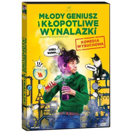 MŁODY GENIUSZ I KŁOPOTLIWE WYNALAZKI DVD PL