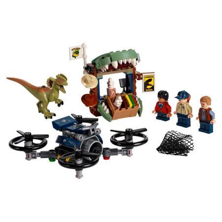 DILOFOZAUR NA WOLNOŚCI LEGO JURASSIC WORLD 75934