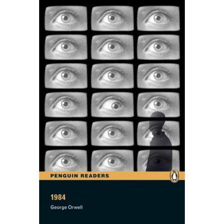 1984 LEVEL 4 KSIĄŻKA + 2x CD George Orwell