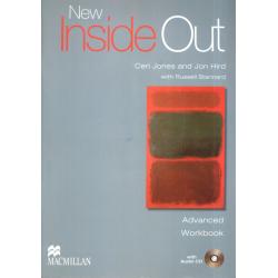 NEW INSIDE OUT ADVANCED ĆWICZENIA + CD Ceri Jones, Tania Bastow, Amanda Jeffries