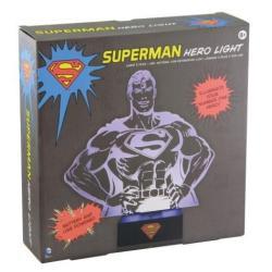 LAMPKA NOCNA SUPERMAN HERO DC COMICS 8+