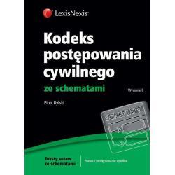 KODEKS POSTĘPOWANIA CYWILNEGO ZE SCHEMATAMI Piotr Rylski