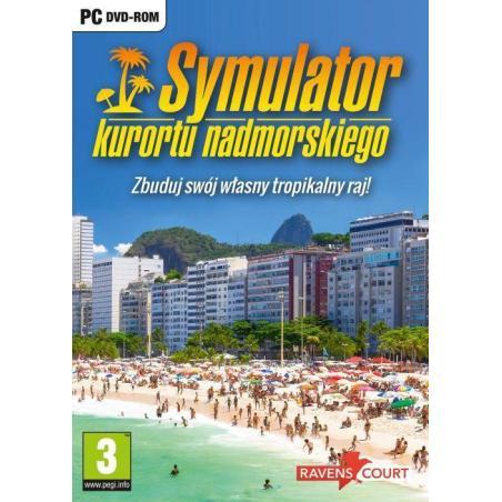 SYMULATOR KURORTU NADMORSKIEGO PC DVDROM PL