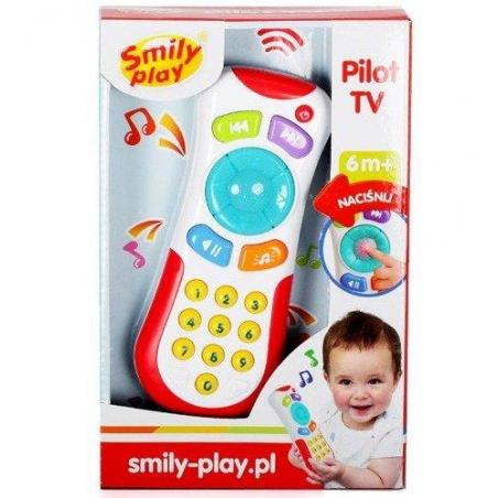 PILOT TV ZABAWKA INTERAKTYWNA SMILY PLAY 6M+