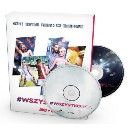 WSZYSTKO GRA CD + DVD PL