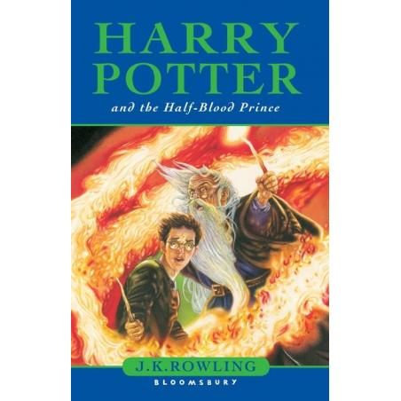 HARRY POTTER AND THE HALF-BLOOD PRINCE J. K. Rowling