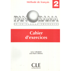 PANORAMA 2. CAHIER D'EXERCICES Jacky Girardet, Jean-Marie Cridlig