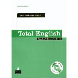 TOTAL ENGLISH PRE-INTERMEDIATE KSIĄŻKA NAUCZYCIELA + CD Diane Naughton