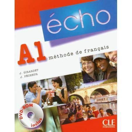 ECHO A1 PODRĘCZNIK + CD Jacky Girardet, Jacques Pecheur