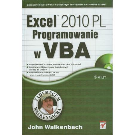 EXCEL 2010 PL PROGRAMOWANIE W VBA John Walkenbach