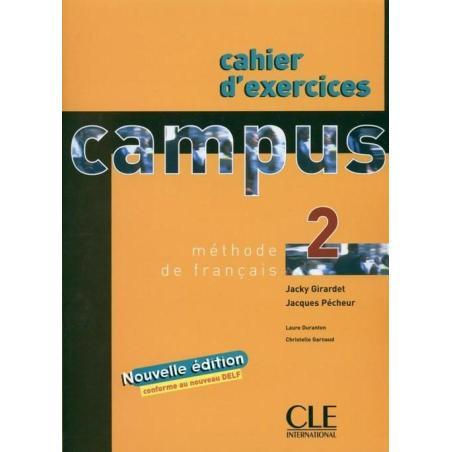 CAMPUS 2 ZESZYT ĆWICZEŃ Jacky Girardet, Jacques Pecheur