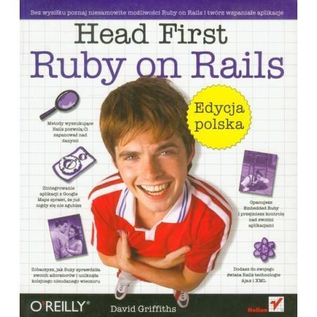 HEAD FIRST RUBY ON RAILS David Griffiths