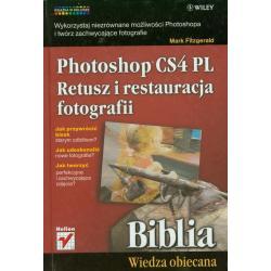 POTOSHOP CS4 PL RETUSZ I RESTAURACJA FOTOGRAFII BIBLIA Mark Fitzgerald