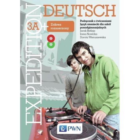 EXPEDITION DEUTSCH 3A PODRĘCZNIK Z ĆWICZENIAMI + CD Jacek Betleja, Dorota Wieruszewska