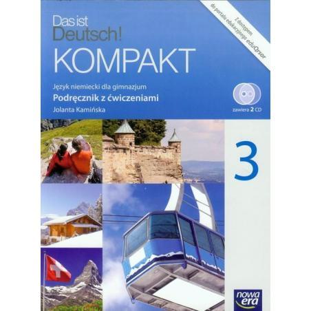 DES IST DEUTSCH KOMPAKT PODRĘCZNIK Z ZESZYTEM ĆWICZEŃ + 2 CD Jolanta Kamińska