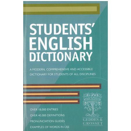 STUDENTS ENGLISH DICTIONARY