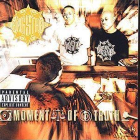 GANG STARR MOMENT OF TRUTH CD