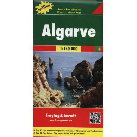 ALGARVE MAPA 1 : 150 000