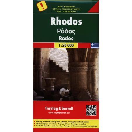 RHODOS MAPA 1:50 000