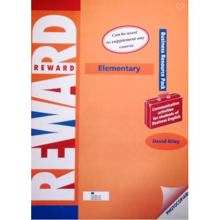 REWARD ELEMENTARY BUSINESS RESOURSE PACK David Riley