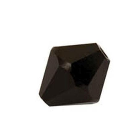 KORALIKI OZDOBNE DIAMOND CZARNE 12 SZTUK 6 MM