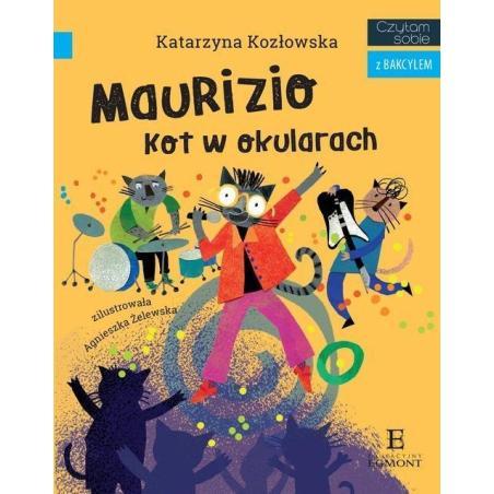 CZYTAM SOBIE Z BAKCYLEM MAURIZIO KOT W OKULARACH 7+ Katarzyna Kozłowska
