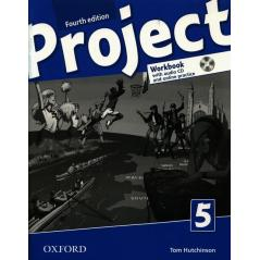PROJECT LEVEL 5 WORKBOOK WITH AUDIO CD AND ONLINE PRACTICE Tom Hutchinson
