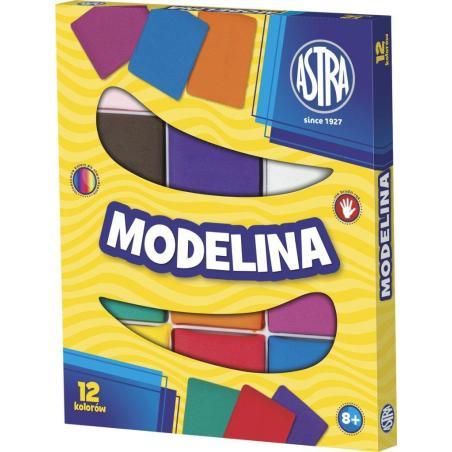 MODELINA 12 KOLORÓW 8+