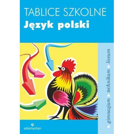 TABLICE SZKOLNE JĘZYK POLSKI Witold Mizerski