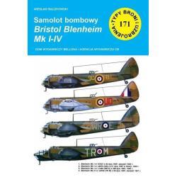 SAMOLOT BOMBOWY BRISTOL BLENHEIM MK I-IV Wiesław Bączkowski