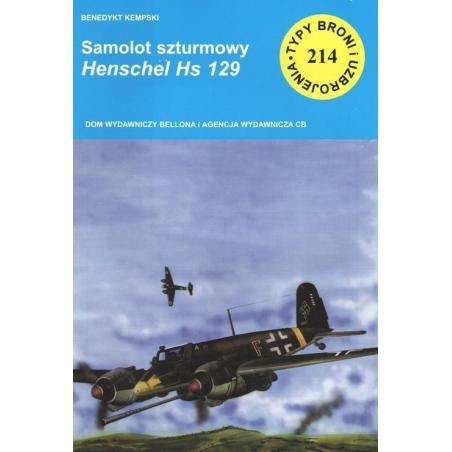 SAMOLOT SZTURMOWY HENSCHEL HS 129 Benedykt Kempski