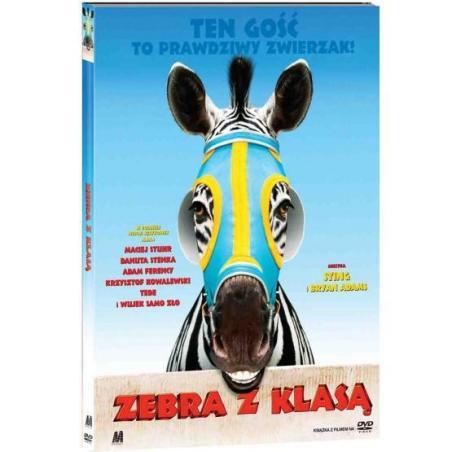 ZEBRA Z KLASĄ KSIĄŻKA + DVD PL