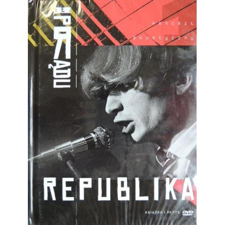 REPUBLIKA BEZ PRĄDU KSIĄŻKA + DVD PL