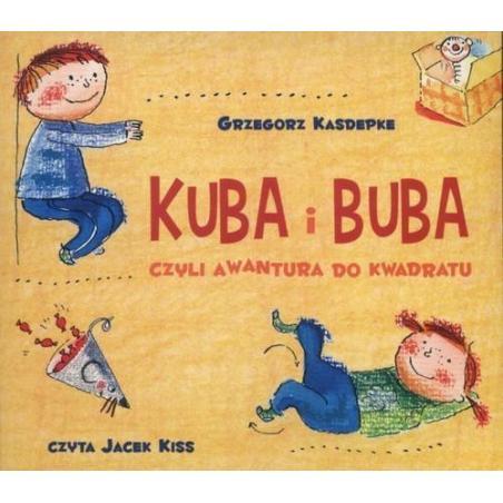 KUBA I BUBA CZYLI AWANTURA DO KWADRATU AUDIOBOOK CD MP3 PL
