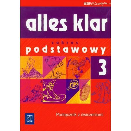 ALLES KLAR 3 PODRĘCZNIK Z ĆWICZENIAMI + CD Krystyna Łuniewska, Zofia Wąsik