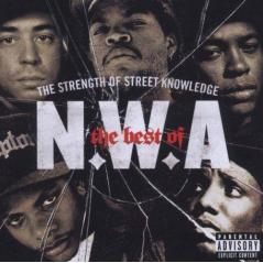 THE BEST OF N.W.A THE STRENGTH OF STREET KNOWLEDGE CD