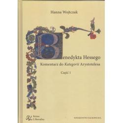 BENEDYKTA HESSEGO KOMENTARZ DO KATEGORII ARYSTOTELESA 1 Hanna Wojtczak