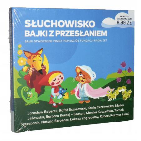 SŁUCHOWISKO BAJKI Z PRZESŁANIEM AUDIOBOOK CD PL