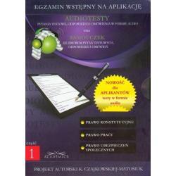 EGZAMIN WSTĘPNY NA APLIKACJĘ AUDIOTESTY ORAZ SAMOUCZEK DVD PL